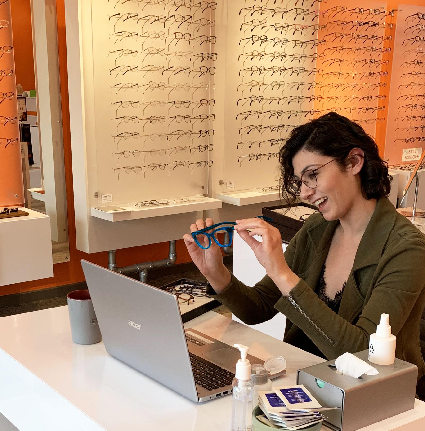 Ulla Eyewear Virtual appointments